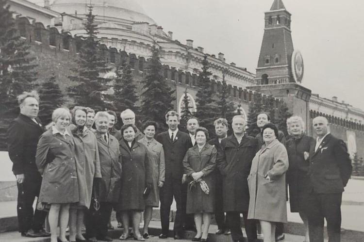 Встреча с бывшими узниками лагеря в Москве Фото: Музей истории медицины Челябинска