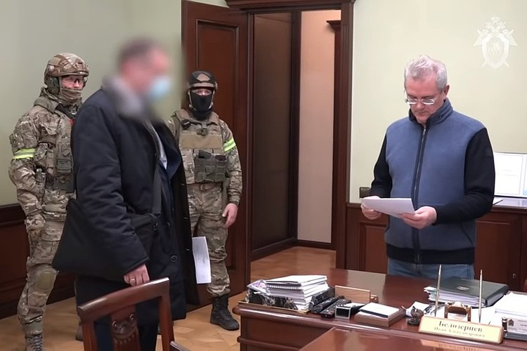 Ивана Белозерцева задержали за получение взятки в 31 миллион рублей.