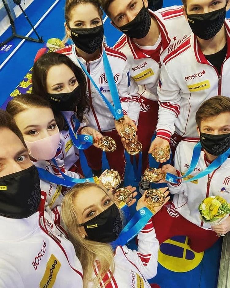 Сборная России на чемпионате мира 2021 - просто разгромила всех соперников. Наши выиграли 6 из 8 видов программы.