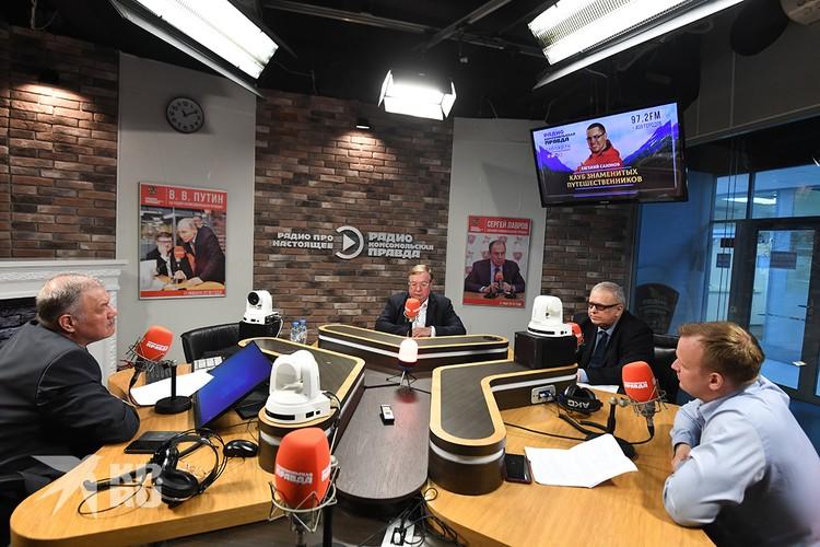 В эфире Радио «Комсомольская правда» - экс-премьер Сергей Степашин и гендиректор Фонда ЖКХ Константин Цицин
