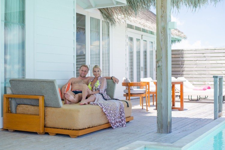 Влюбленные жили на острове Алувифуши. Фото: Naahil Rasheed