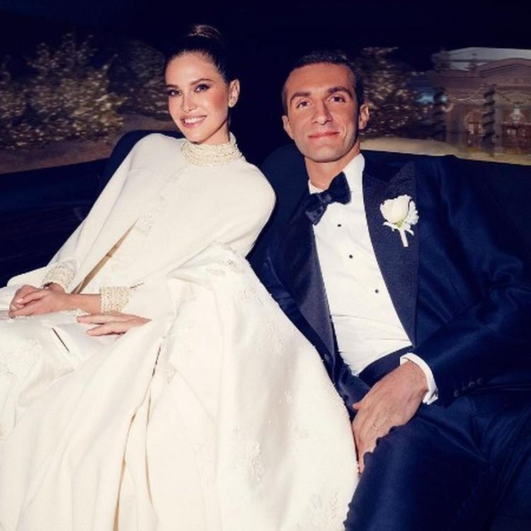 Дарья и Ставрос поженились в октябре 2019 года. Фото: Инстаграм.