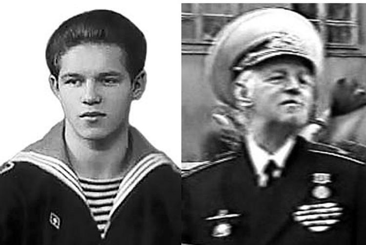 Леонид Лобанов дослужился до контр-адмирала Фото: flot.com/