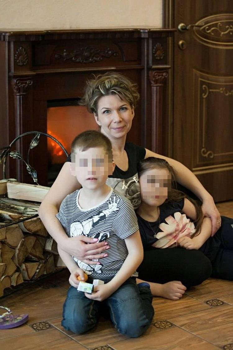 У женщины остались двое детей