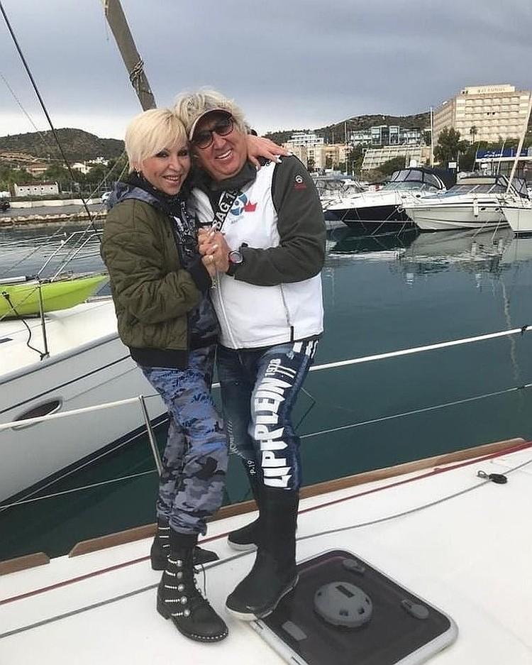 Со своим третьим мужем Юрием Фирсовым Валентина познакомилась в соцсетях. Фото: Инстаграм.