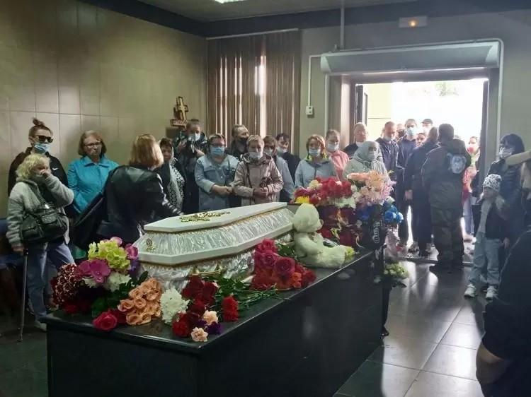 Прощание с Настей Муравьевой