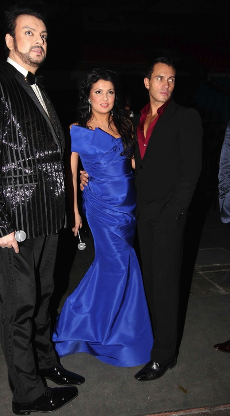 Песня года 2010:Филипп Киркоров и Анна Нетребко с мужем.