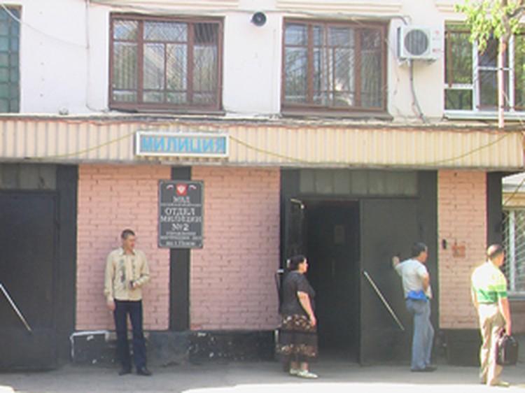 Юноша также пытался взорвать здание отделения милиции