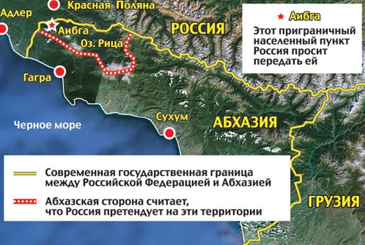 Территориальный спор с Абхазией