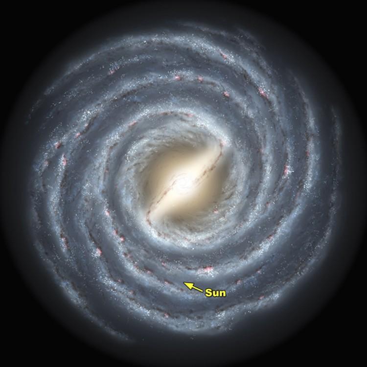 Наша галактика Млечный путь. Неужели мы одни в ней - такие разумные?
