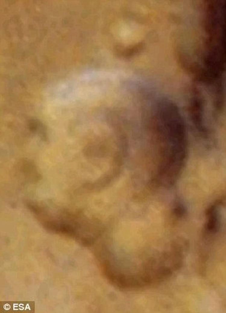 Марсианский барельеф индийского вождя.