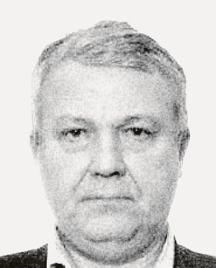Это фото - копия с паспорта Сергея Филиппова. Оригинал остался на борту лайнера.