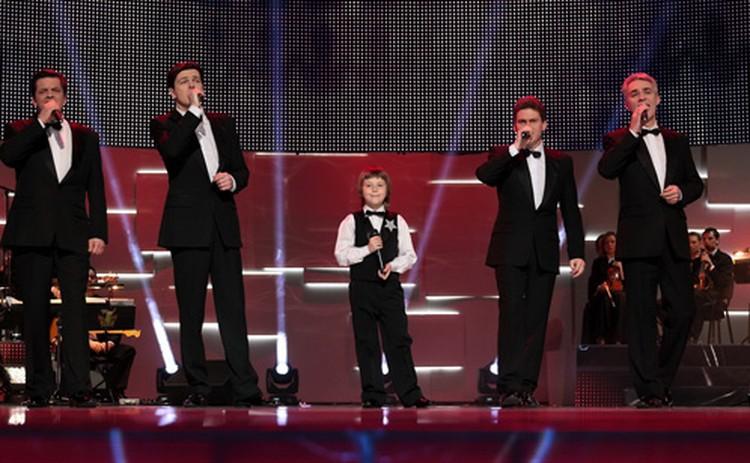 В первом шоу Никита споет с вокальной группой «Чистый голос».