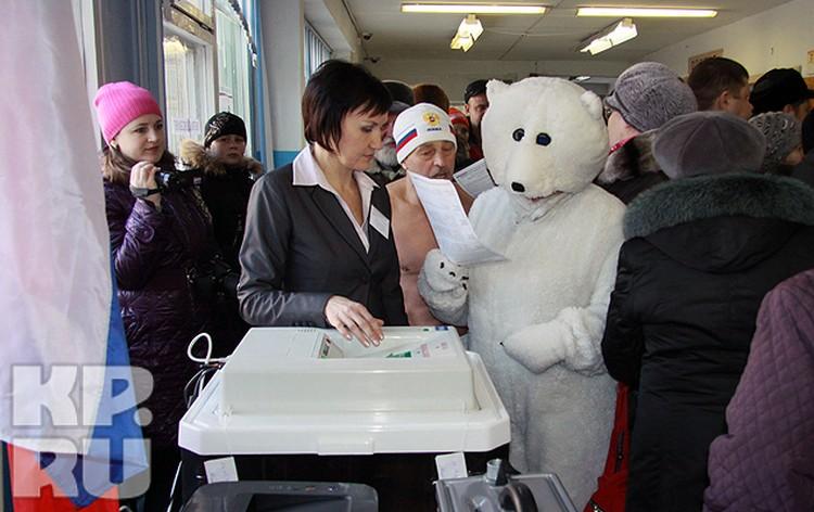 Большинство избирателей одобрили акцию «Белых медведей»