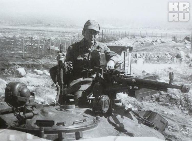 Патраков провел в Афгане два года