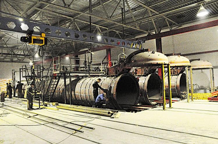 Расширение автоклавного отделения для производства силикатного кирпича.