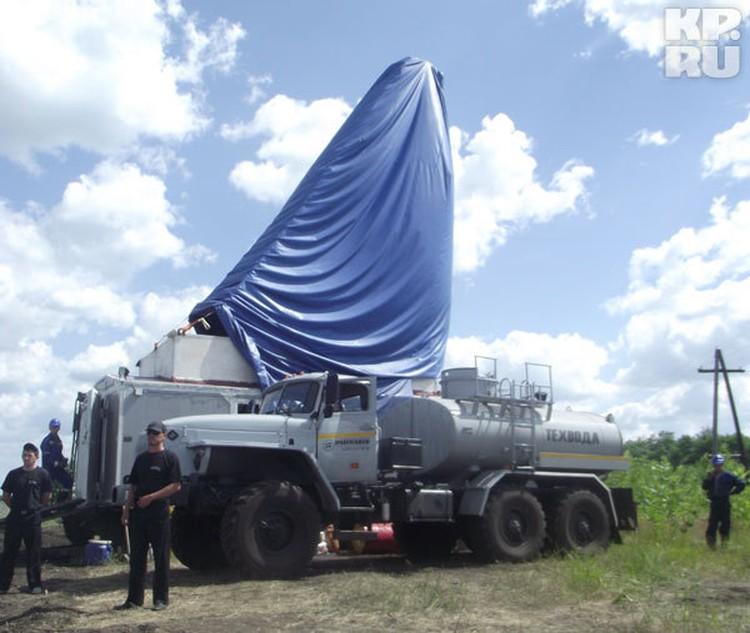 В начале июня на никелевом месторождении под Новохоперском появились первые буровые установки.
