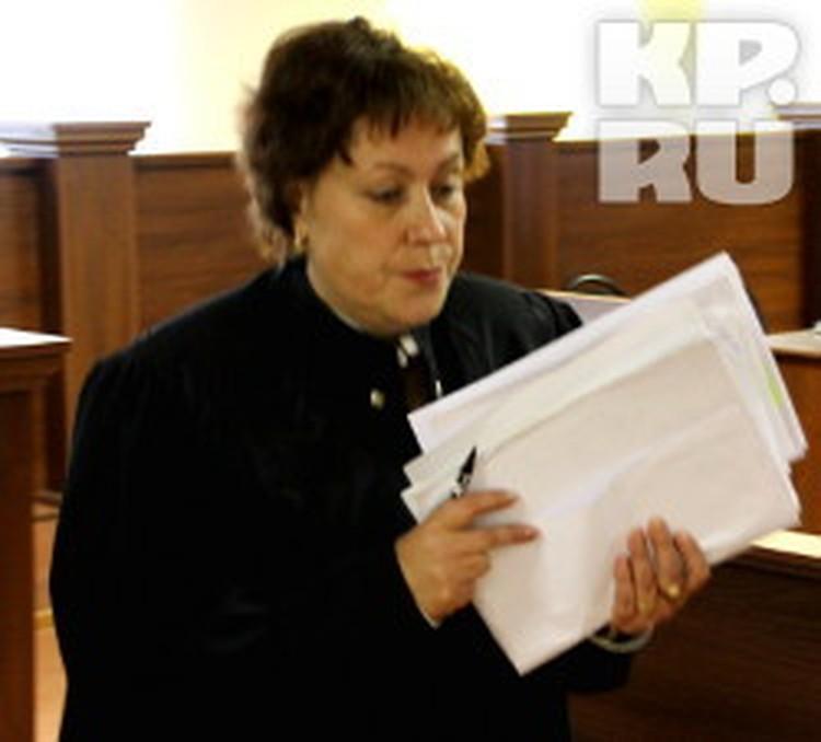 Судья Татьяна Сорокина