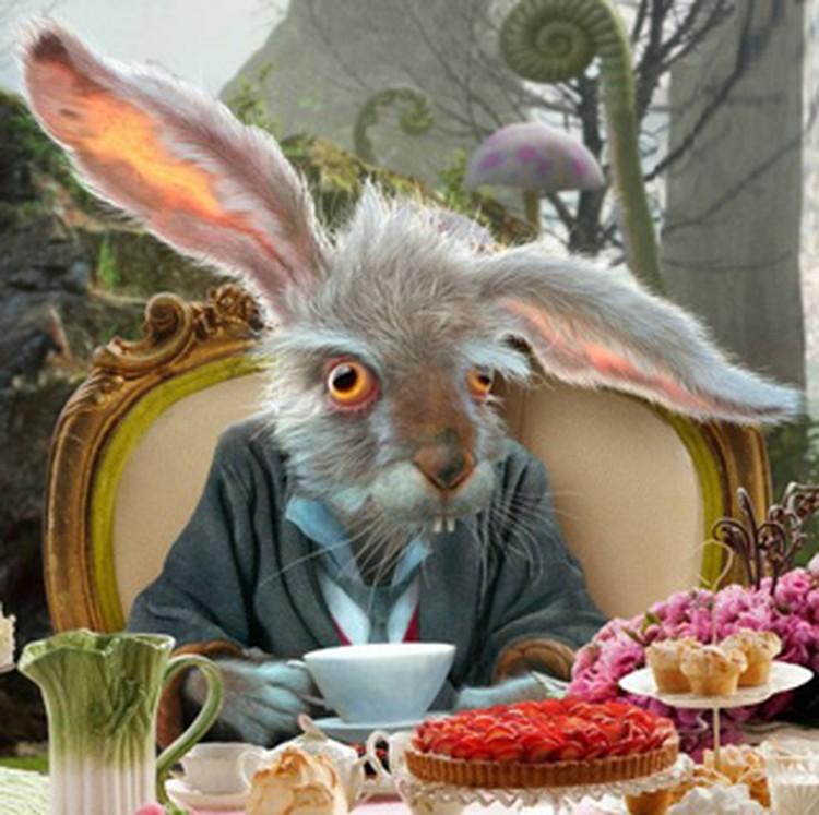 Сумасшедший Мартовский заяц.