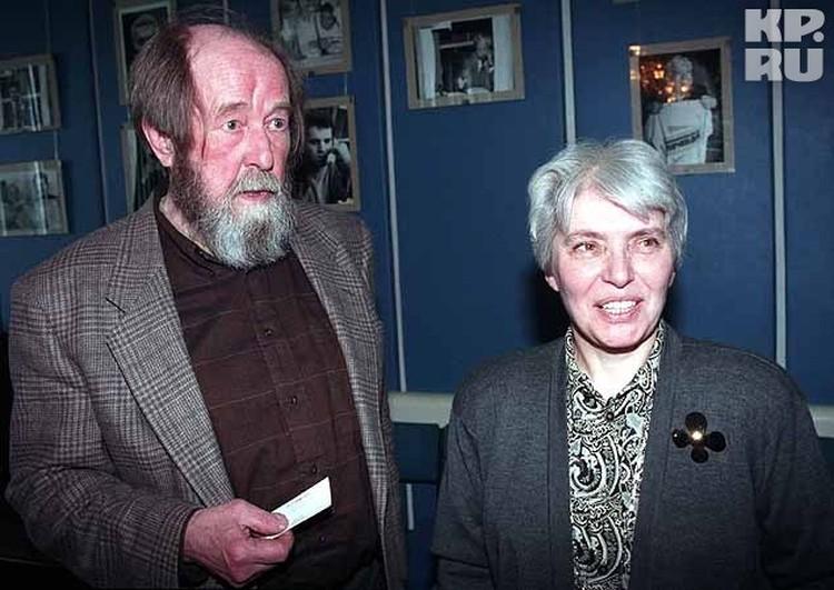 2006 год, с супругой Натальей Дмитриевной.