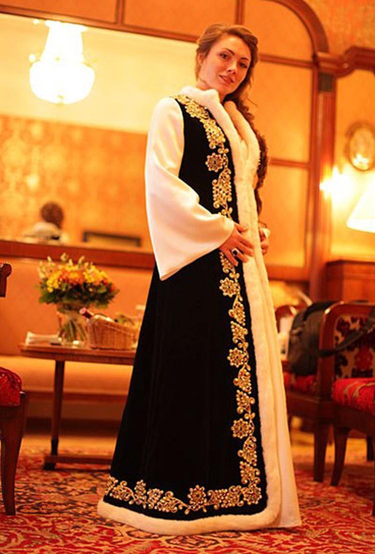 Ольга Радиевская в свадебном наряде
