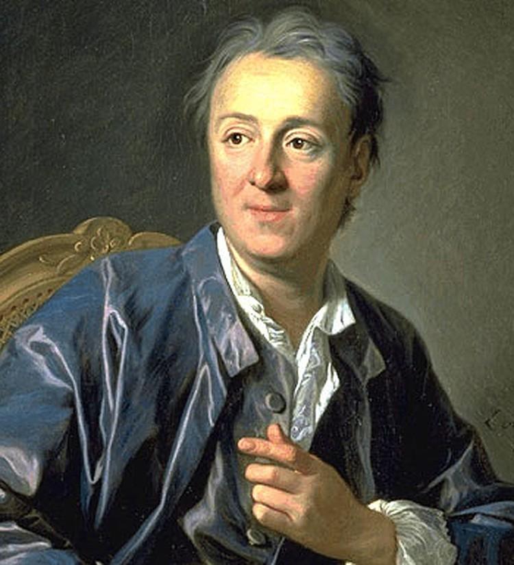 Дидро с удовольствием путешествовал по России и жил в Петербурге.