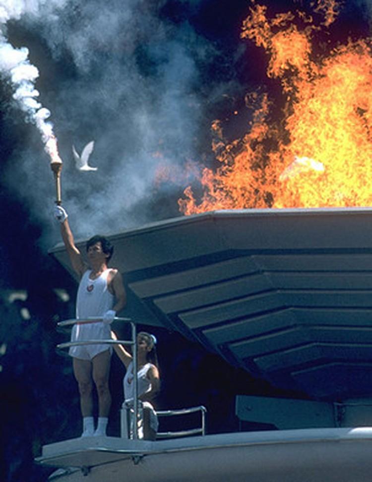 Церемония открытия Олимпийских игр «Сеул 1988».