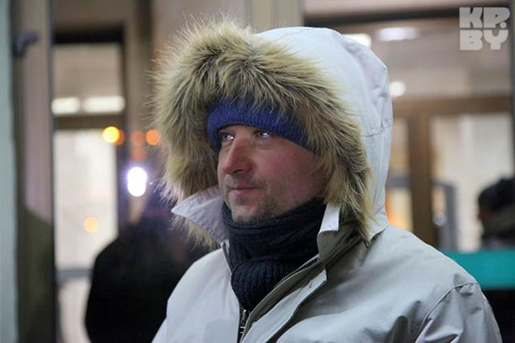 На съемках всем было очень холодно. И продюсеру Сергею Ждановичу тоже