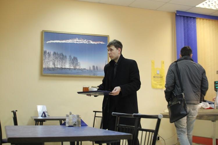 Еще в Челябинске открылась столовая «Метеорит» для сотрудников офисов.