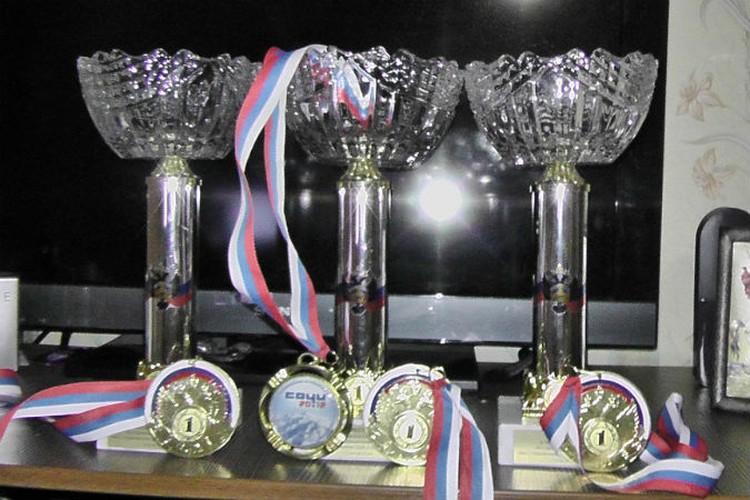У Николая уже много наград и медалей