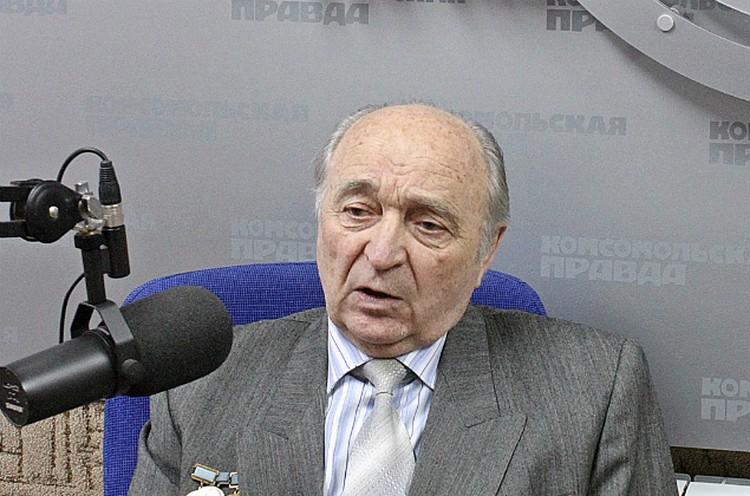"""Владимир Кузичкин в студии радио """"КП"""""""
