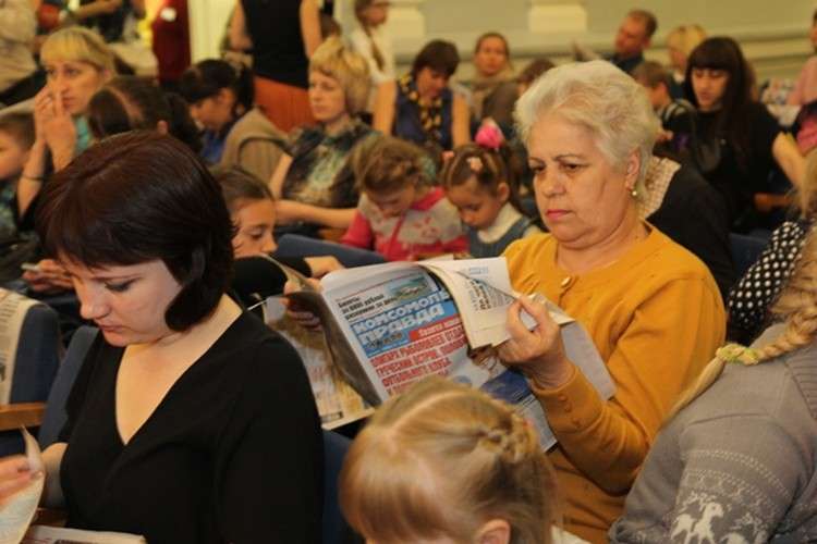 «Комсомолка» провела концерт для первоклассников и их родителей в иркутской филармонии