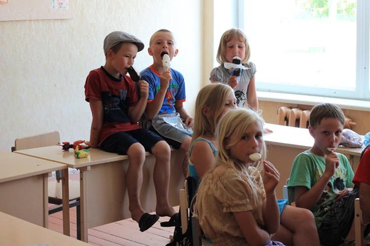 В Круче живет 500 человек, в детский сад-школу здесь ходят 50 детей.
