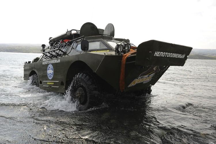Непотопляемый прошел по водам Баренцева моря несколько десятков километров.