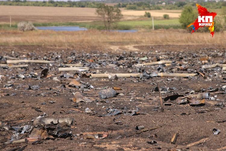 Весь лагерь усыпан ступенями реактивных снарядов «Града»