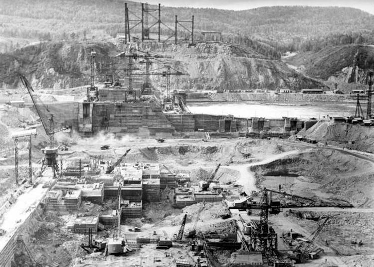 Такой Вольф Мессинг увидел ГЭС в 1964 году. Фото предоставлено Игорем Фёдоровым