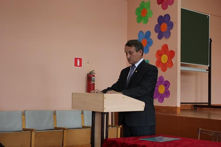 Глава Комсомольского района Чувашии Михаил Афанасьев.