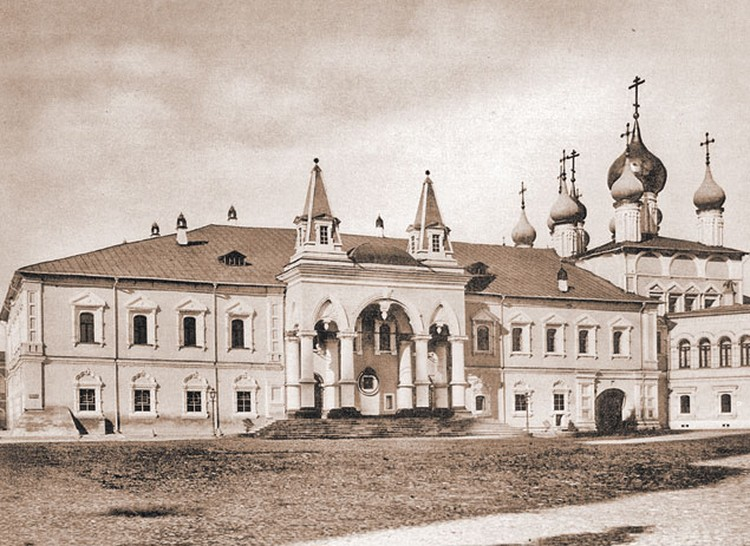 Вид Чудова монастыря. Фото XIX века.