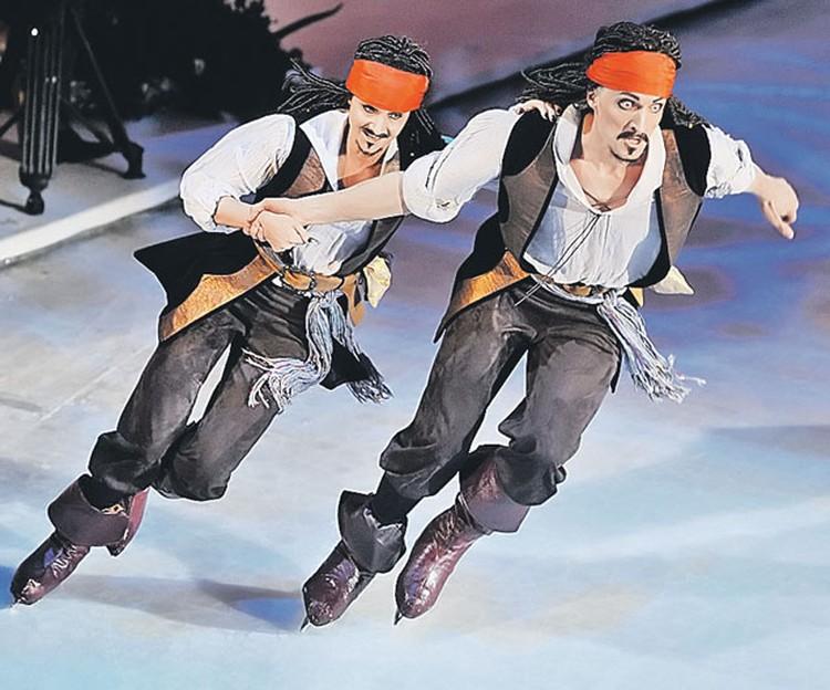 Оксана Домнина и Иван Скобрев  в полуфинале стали Джеками Воробьями. Оба.