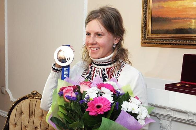 Спортсменка призналась, что к этой награде она шла всю свою жизнь.