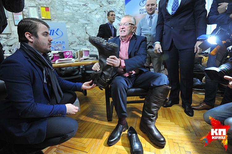 Жириновский в удовольствие поторговался, но в итоге даже переплатил