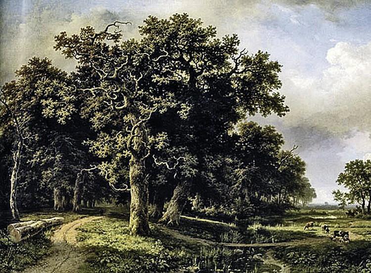 Фальшивый «Пейзаж с ручьем» Шишкина- $1,1 миллиона.