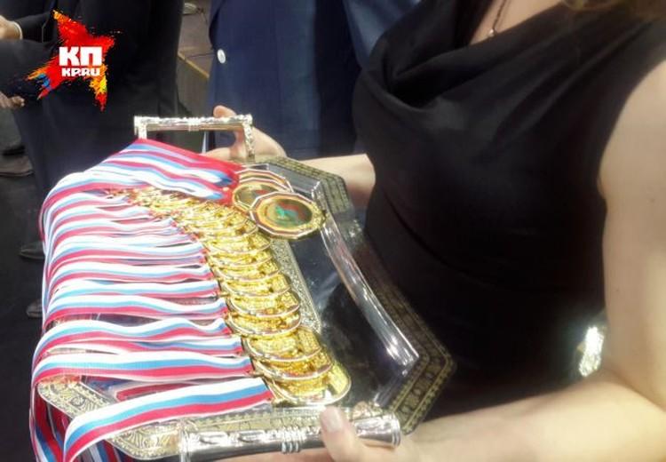 Медали чемпионов