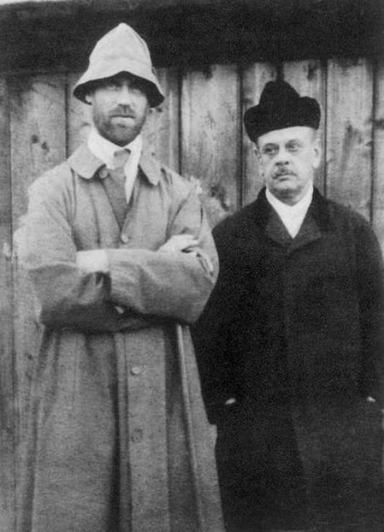 Михаил и Джонсон во время пермской ссылки