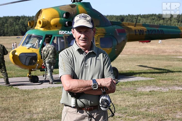 Бывший военный летчик и бизнесмен Валерий Яляев.