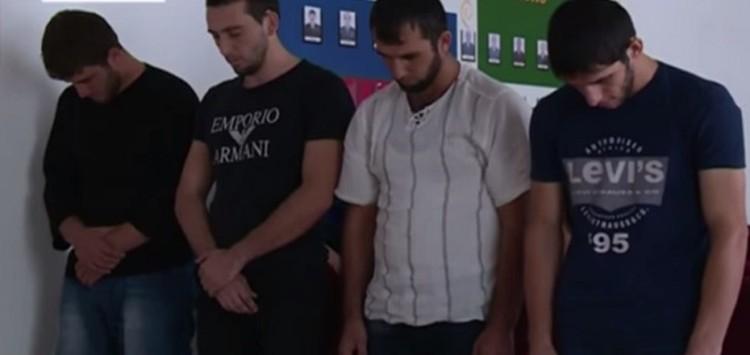 Жители Чечни, пытавшиеся бежать в ИГИЛ через Украину. Фото: телевидение ЧР.