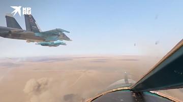 Бомбардировщики ВКС и ЮВО поразили цели на полигонах в Астраханской области