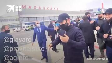 Хабиб Нурмагомедов вернулся в Дагестан