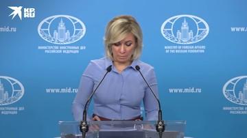 Призыв Санду к выводу российских миротворцев из Приднестровья подрывает урегулирование - Захарова