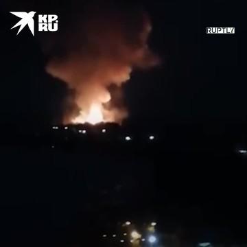 Пожар на пороховом заводе в Перми локализован